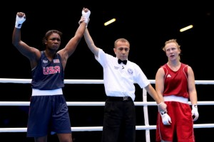 Claressa Shields wins the gold medal in 2012. Photo courtesy of Scott Heavey/Getty Images