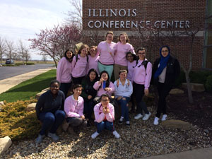 Pictured is the WYSE team at University of Illinois. Photo Credit/ Mr. Finder