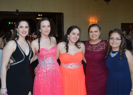 Maddie, Julia, Alex, Emily, and Olivia  Photo Credit/ Bella D'Agostino
