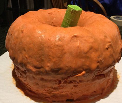 October DIY: How to Make A Pumpkin Spice Latte Cake
