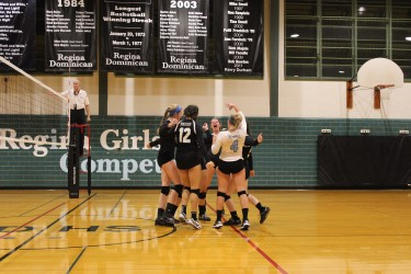Varsity Volleyball Wraps Up Its Season