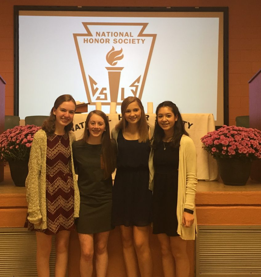 New Members Inducted into National Honor Society