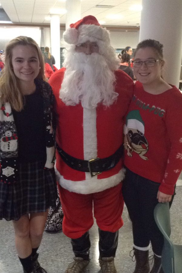 Regina Dominican Hosts All School Christmas Party