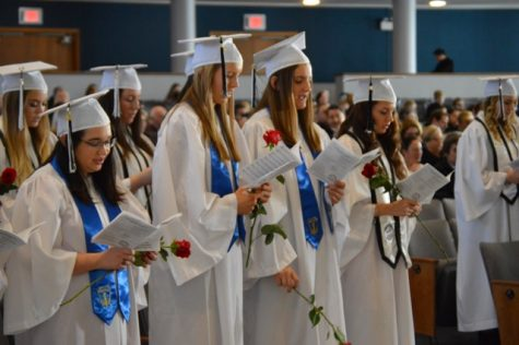 Ring Day Marks Seniors First Steps Toward Graduation