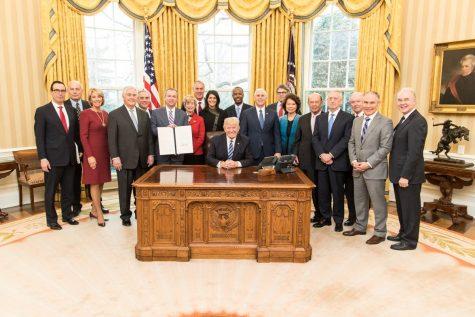 Senate Confirms Members of Trump's Cabinet