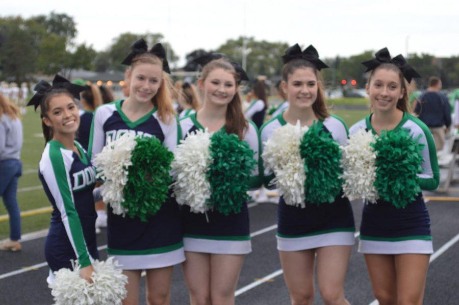 Hoo Hoo Rah Rah for the ND Cheerleaders