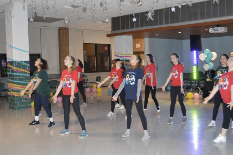 Regina Girls Dance the Night Away at Dance Marathon