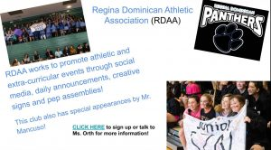 Regina Dominican Athletic Association (RDAA)