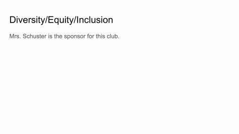 Diversity/Equity/Inclusion Club