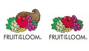 Which logo do you remember? A lot of people recall the image on the left, however, there was never a cornucopia in the image.