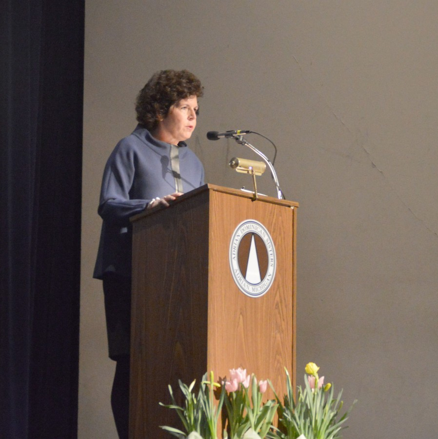 Dolly Duffy Gives Students an Empowering Speech