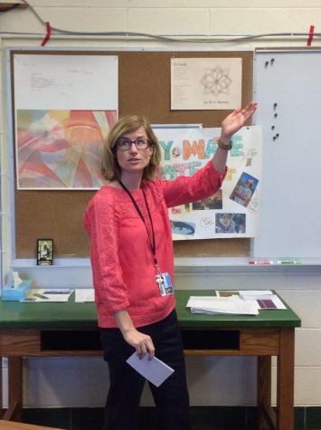 Ms. Tully teaching logical fallacies in AP Lang!