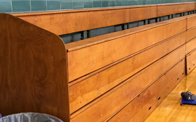 Raffle Money To Be Spent on New Gym Bleachers