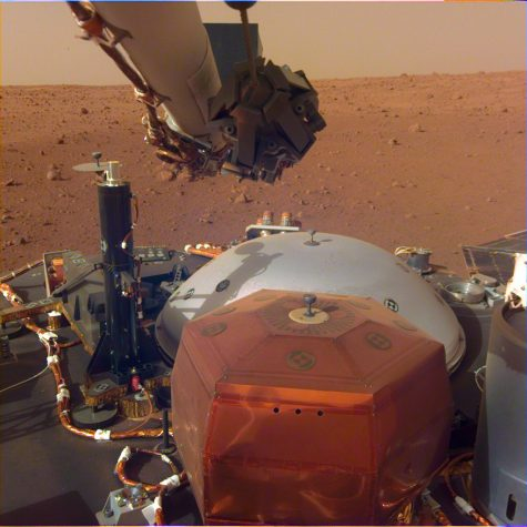 Red Rover: Mars InSight Mission Arrives at the Red Planet