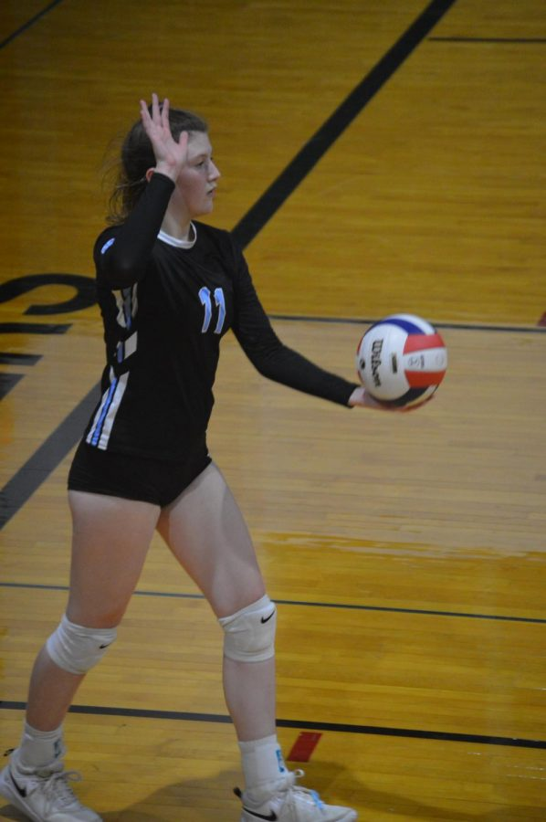 Q & A With Volleyball Captain Emma Delaney