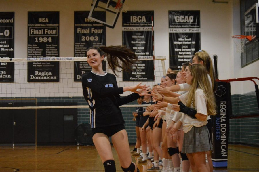 Q & A With Volleyball Captain Lily D'Agostino
