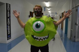 Look it's Mr. Wazow--I mean, Mr. Michaelek!  Photo Credit/Yearbook Staff