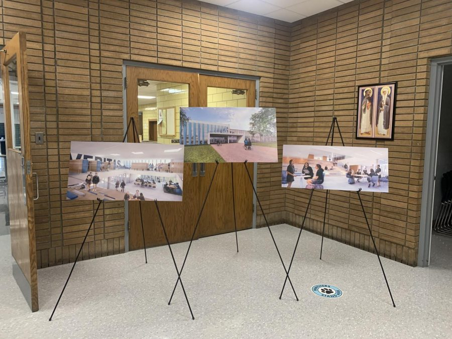 Three architectural designs for the new Regina Dominican remodel.